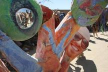 Art sculpture at Burning Man 2015