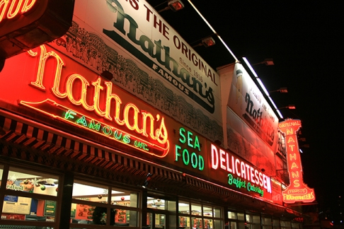Original Nathan's coney island