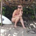 girl beach puerto rico