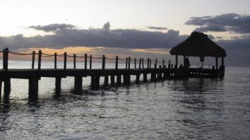Cozumel Mexico Ocean pier