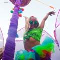 festival girl with tutu