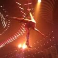 Acrobats at Mansion nightclub Miami