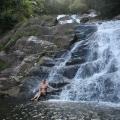 puerto rico waterfall