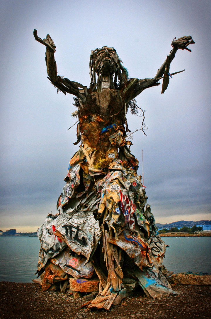 The Albany Bulb Sculpture