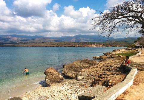 La Boca coast