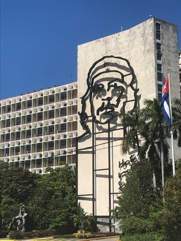 Ministry of Interior building in Plaza de la Revolución